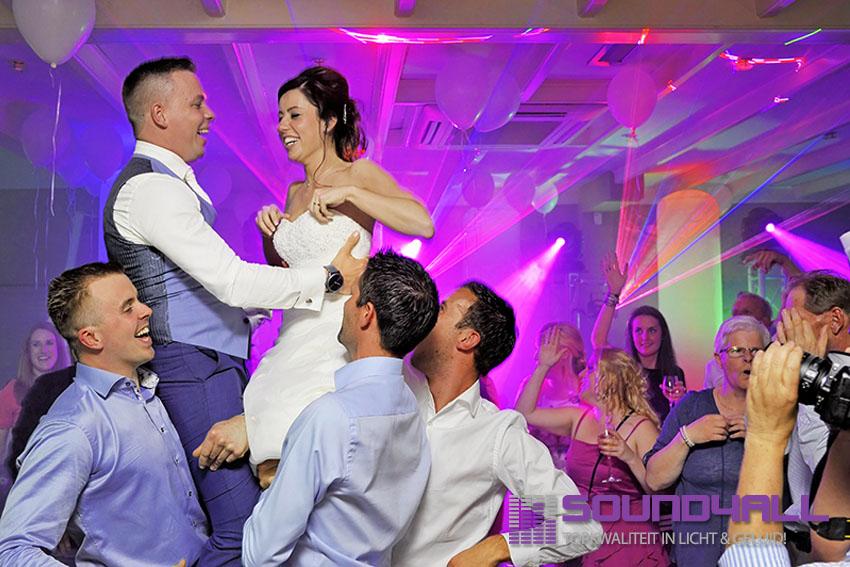 Bruiloft Dj Nieuwegein Green Village Michael en Melissa