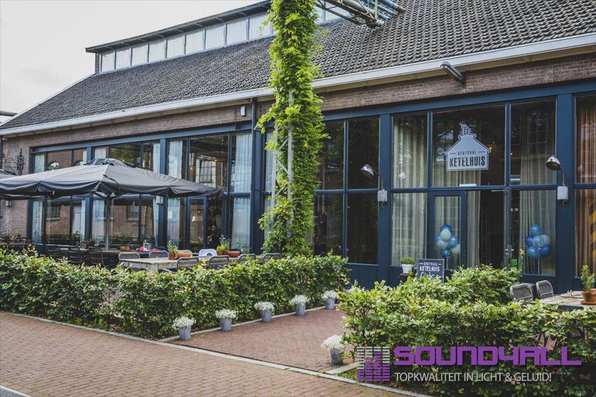 Bruiloft Dj Amersfoort Centraal Ketelhuis | Erik en Nancy